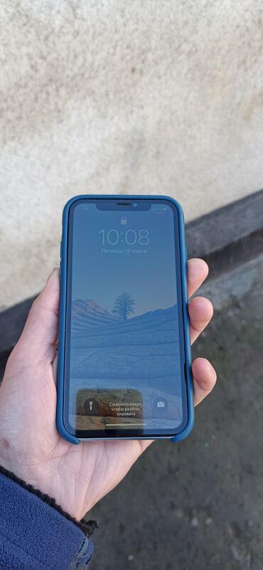 Электроника - Юрьевка: IPhone Xr | 64 ГБ | Голубой Б/У | Беспроводная зарядка, Face ID, С документами