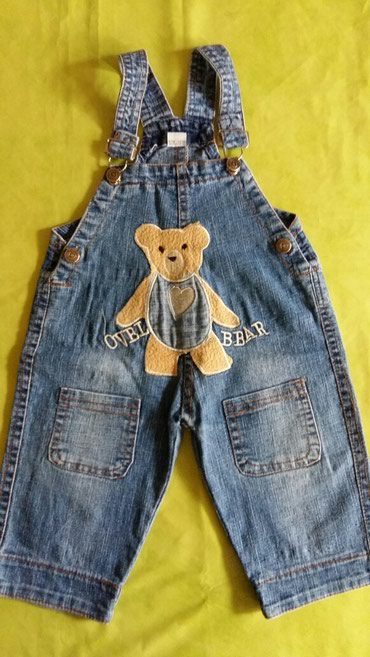 Farmerke na tregere - Srbija: Pantalone na tregere za decake od godinu dana,polovne i ocuvane