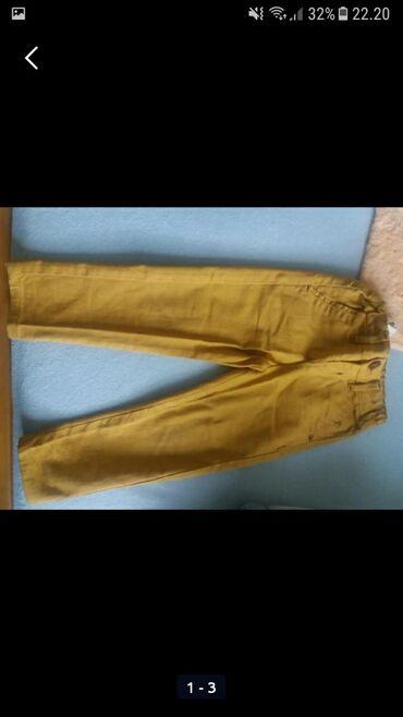 Dečije Farmerke i Pantalone | Sokobanja: Pantalone.oker zute 3 a braon 86.pogledajte i ostale moje oglase