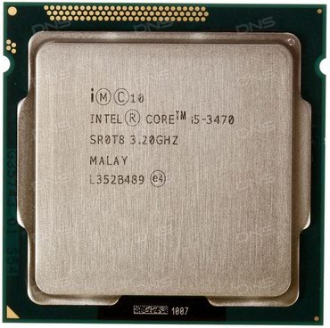 İntel core i5 3470 3.20 GHz в Баку