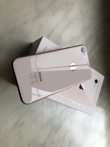 iphone чехол стразы в Азербайджан: Б/У iPhone 8 64 ГБ Розовое золото (Rose Gold)