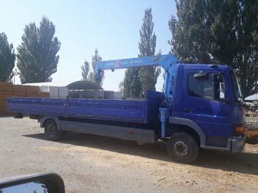 Эвакуатор кран манипулятор - Кыргызстан: Услуги кран манипулятора