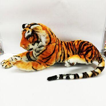 передержка кошек бишкек in Кыргызстан   ЗООТОВАРЫ: Тигр мягкая игрушка.Ребенок любит больших кошек?Тогда перед вами яркий