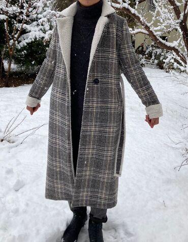 Абсолютно новое пальто(ошиблись размером)Длину можно убрать,если