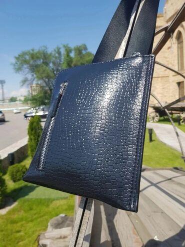 чёрная-сумка в Кыргызстан: Барсетки из натуральной кожи. Люксовая Турецкая фурнитура. удобная и