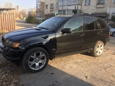BMW - Автоматическая - Бишкек: BMW X5 3 л. 2001