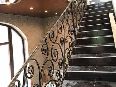 Лестница,варота ,перила изготовления и установка в Бишкек
