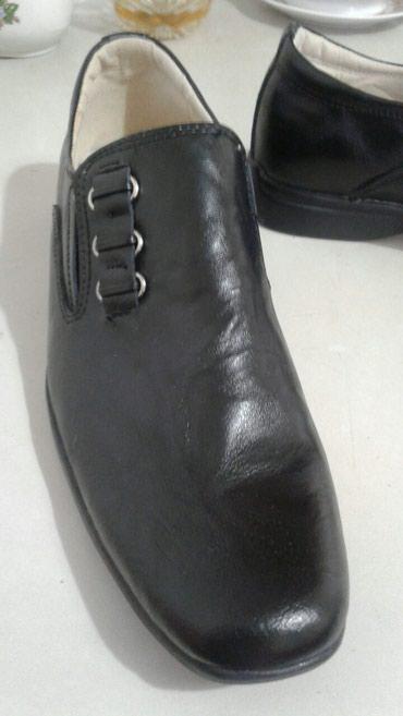 obuvzimnie 38 razmer в Кыргызстан: В школу новые классические туфли мальчику, кожа 37-38 размер