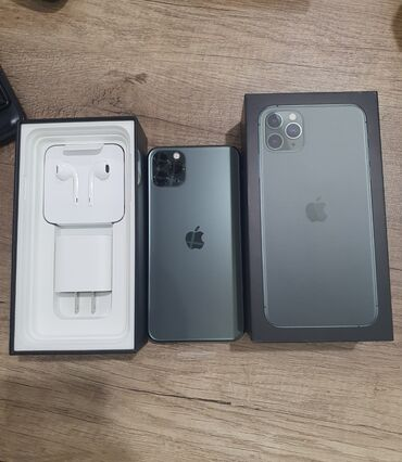 купить iphone бу в рассрочку в Кыргызстан: Новый IPhone 11 Pro Max 64 ГБ Зеленый