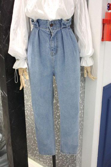 слипоны на высокой подошве женские в Кыргызстан: Оригинальные женские джинсы с высокой талией на заказ Цена 1450 сом,с