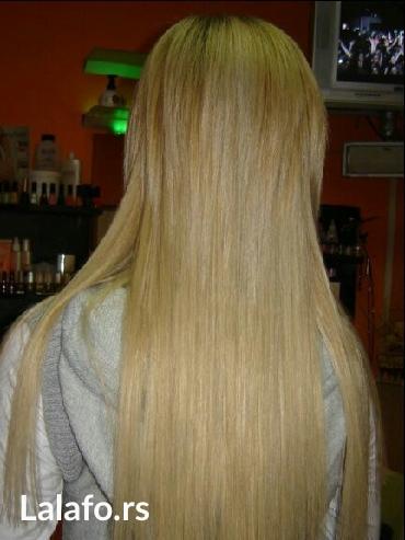 Umetak za kosu na klipse. U svim bojama. Kosa je poluprirodna i veoma - Belgrade