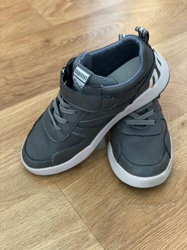 tufli 35 razmer в Кыргызстан: Кроссовки для мальчиков(кожа)35 размер(22,5 см) состояние идеальное