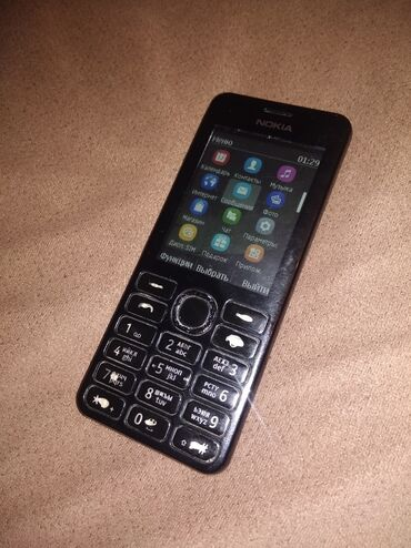 Nokia Şirvanda: Nokia 206 duos. Heç bir problemi yoxdur. 2 nömrə. Adapteri var