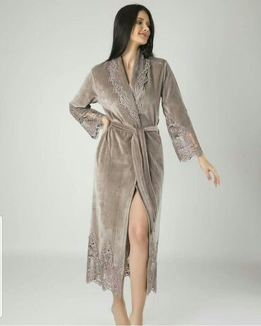 платья свободного кроя для полных в Кыргызстан: Очень красивый женский халат из королевского влюра. Остался последний