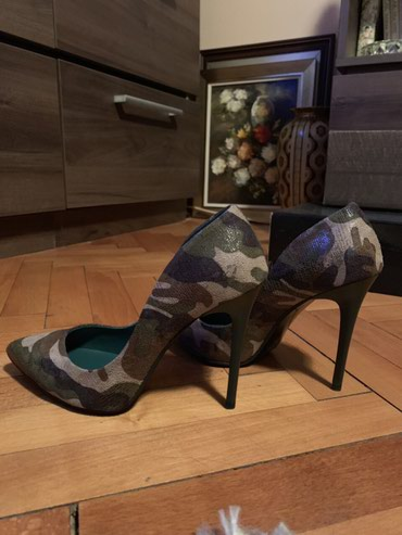 Cipele militari, nove nenosene br.38, stikla 10.5cm. - Nis