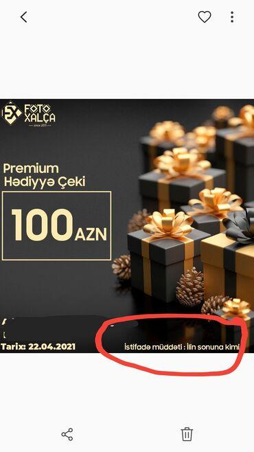 100 AZN dəyərində Fotoxalça kuponu satılır. Kupon il sonunadək qüvvədə