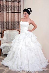 43346061ea0c70f Свадебное платье продажа 5000 Свадебный салон Золушка в Бишкек - фото 2