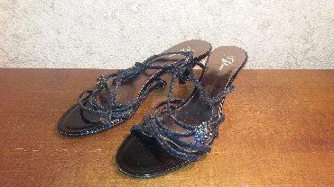 Natikače | Srbija: Bata papuče br.38 Made in Italy - koža. Dužina gazišta je 25cm. Bez