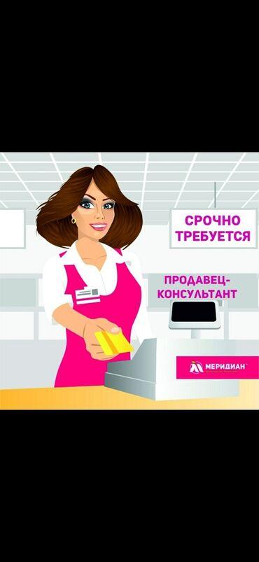 sumka kosmetika в Кыргызстан: Продавец-консультант. С опытом. 5/2