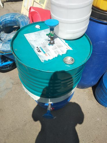 Летний душ 100 литров! пластиковые бочки готовый душ! в Кок-Ой
