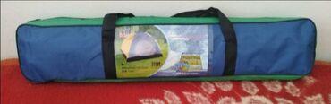 Šator za 5 osobaBoja zeleno plavaDimenzije 208x208x145cmCena 2700 din
