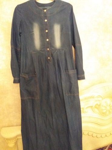 Платье джинсовое для беременных и в Бишкек