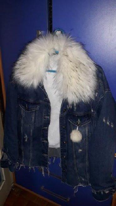 Parka-model-sa-bogatim-krznom-sezonsko - Srbija: Moderna teksas jakna sa bogatim krznomvelicina od m,do xxl