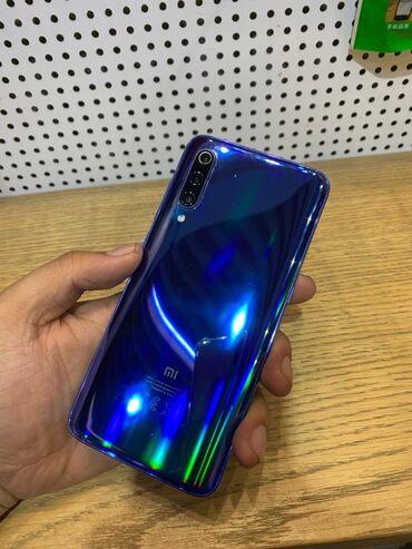 Электроника - Кызыл-Кия: Xiaomi Mi 9 | 64 ГБ | Синий | Сенсорный, Отпечаток пальца, Беспроводная зарядка
