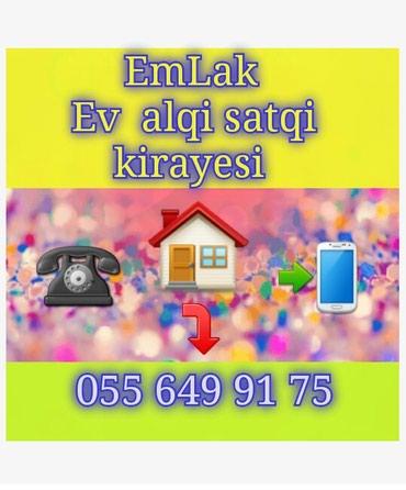 Emlak ev alqi satqi kiraye 480 azn icareye arendaya obyekt satdiq в Bakı