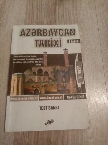 Az. Tarixi ilə bağlı testlər bu kitabda dərc olunmuşdur. 2013