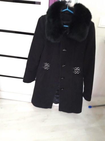 Пальто 3000(кашемир ,воротник песец) в Бишкек