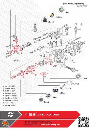 brilliance v5 16 at в Кыргызстан: #delphi dp200 injection pump for rotary distributor diesel fuel