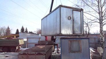 строительный вагон в Кыргызстан: Вагончик строительный на заказ