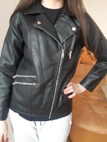 юбка в пол трикотаж в Кыргызстан: Куртка кожаная фирмы Koton на 11-12 лет  В отличном состоянии