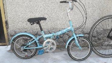 велосипед для детей 3 6 лет в Кыргызстан: Скоростной складной велосипед из Кореи 7 скоростей Для детей от 6 до 1
