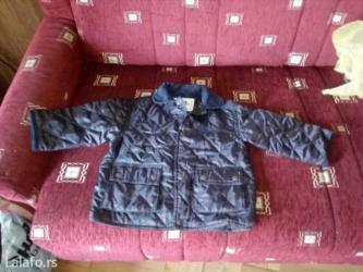 Decija jakna crne boje za uzrast 2 godine,prolece-jesen,nova - Beograd