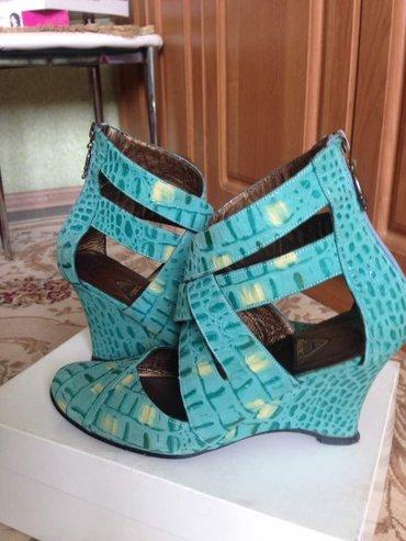 Кожаные туфли, размер 38 в Бишкек