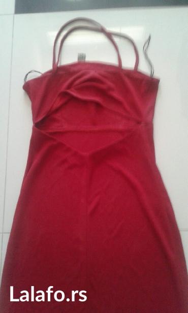 Boja-crvena - Srbija: Haljina stoji idealno crvena boja veličine xs s m