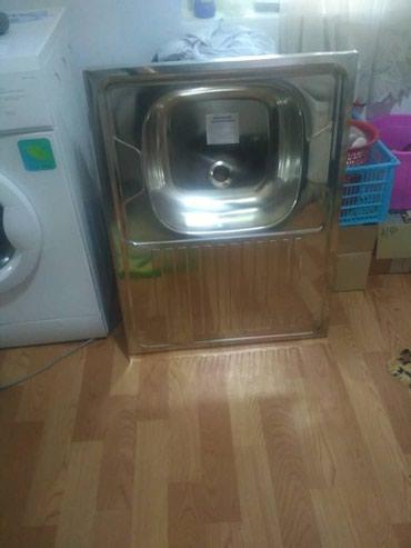 Кухонная мойка НОВАЯ не ставили даже. 80×60. в Бишкек