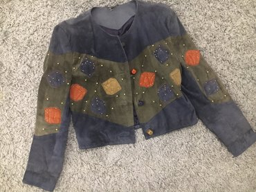 Prelepa kozna jakna...par puna nosena, vel. L Duzina:52cm sirina:46cm, - Novi Sad