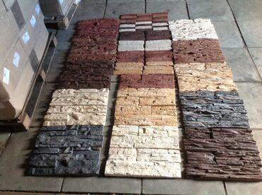 рваный камень бишкек в Кыргызстан: Брусчатка и Фасадный камень  Преимущества искусственного камня, фасадн