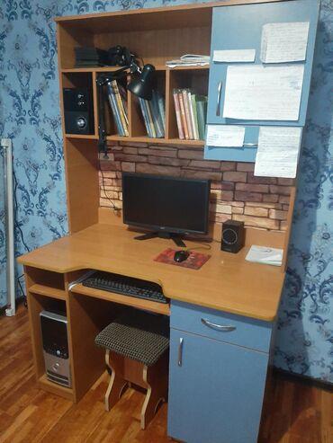 Продам партустол компьютерный, высота194, ширина стандарт. Синий-