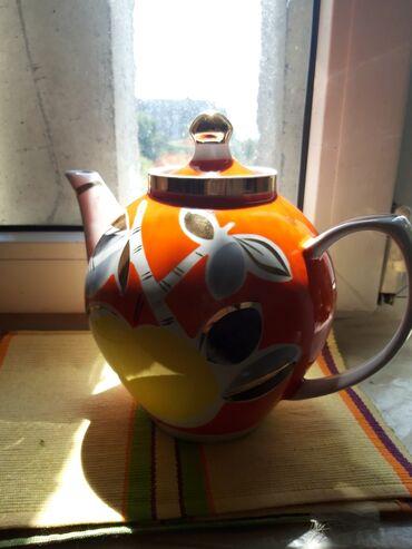 астон мартин в бишкеке в Кыргызстан: Продам чайник и две чашки!!Советская керамика состояние идеальное