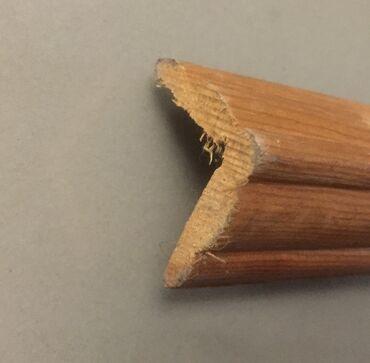 Уголок деревянный декоративный для отделки помещения размером 28 мм х