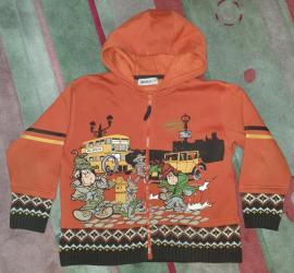 Pletena-jaknica - Srbija: Waikiki termo dux na otkopcavanje sa kapuljacom, ima rajsfeslus