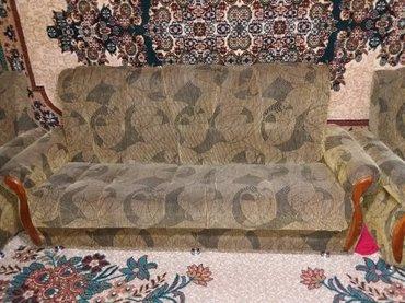 Мягкая мебель 4-ка. в хорошем состоянии. Мебель находится в г.Каракол. в Тюп