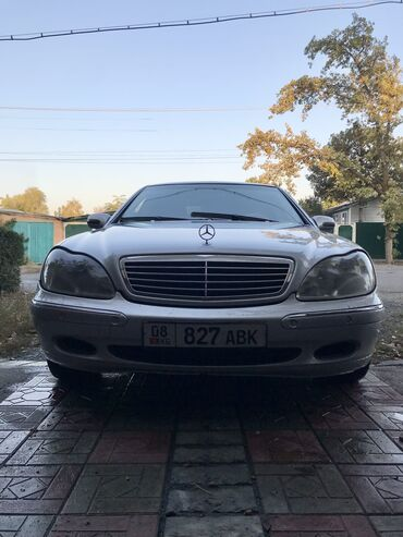 дизель кж авто in Кыргызстан | АВТОЗАПЧАСТИ: Mercedes-Benz S 320 3.2 л. 2002 | 400000 км