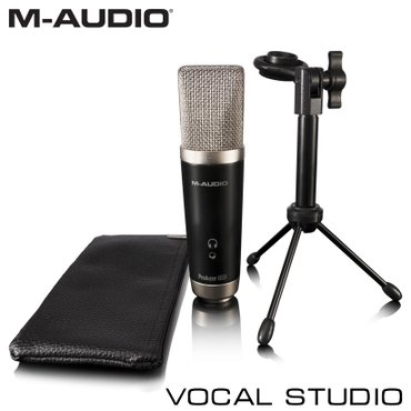 Микрофон студийный M-Audio Vocal Studio — недорогой вокальный USB