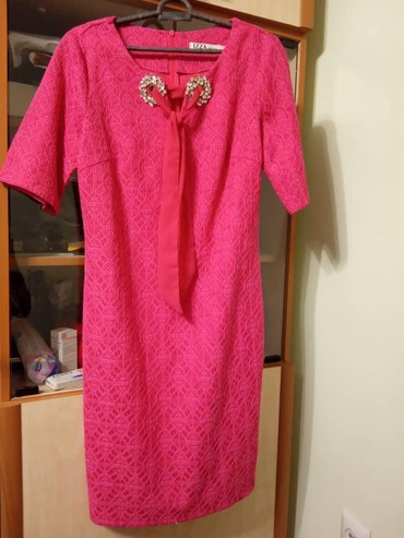 летнее платье трапеция в Кыргызстан: Продаю платье турция размер 40. одевалось один раз