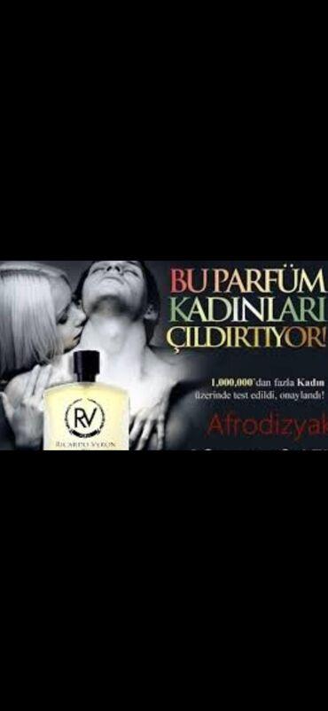 - Azərbaycan: Senay perfumery Fransa brendine mexsus Ricardo veron etirinin yeni
